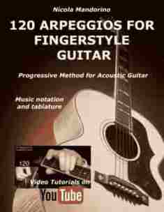 120 Arpeggios for Fingerstyle Guitsr - book