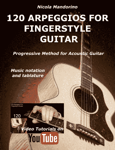 120 Arpeggios for Fingerstyle Guitsr