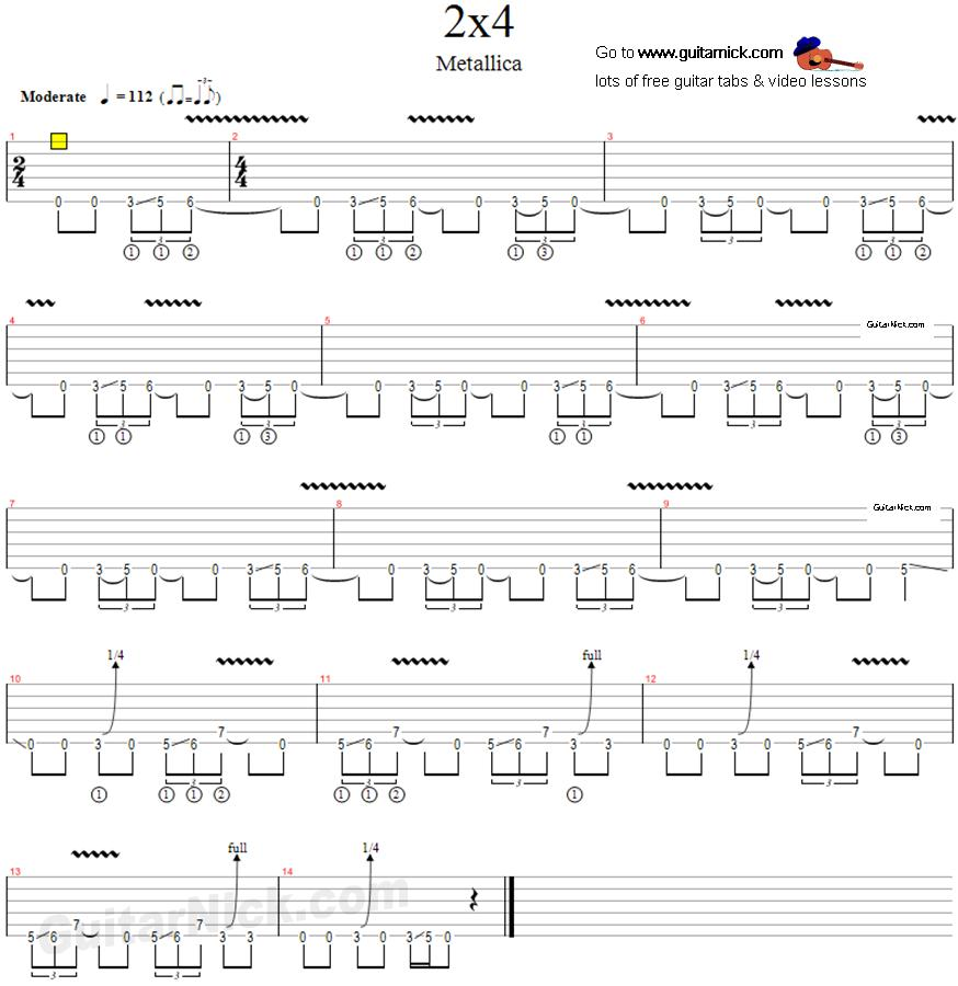 Metallica Guitar Tabs Related Keywords - Metallica Guitar Tabs Long Tail Keywords KeywordsKing