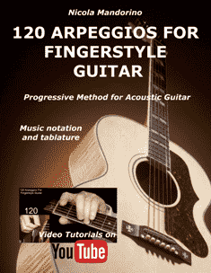 120 Arpeggios For Fingerstyle Guitar - cover