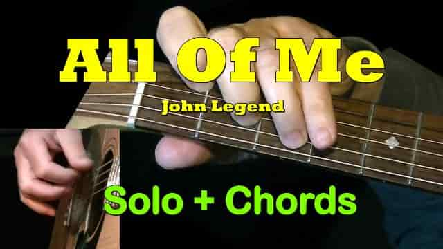 All Of Me - John Legend | Easy Guitar Tab