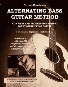 Fingerpicking Guitar Method - book