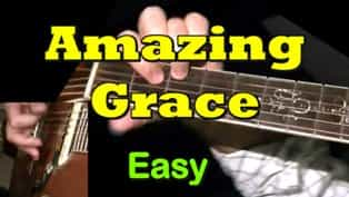 Amazing Grace | Easy Guitar Tab - Chords