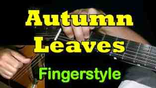 Autumn Leaves - fingerstyle Guitar Tab