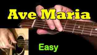 Ave Maria - Easy Guitar Tab