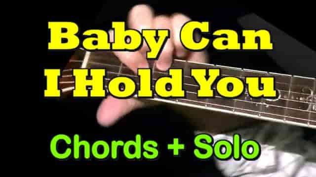 Baby Can I Hold You (Tracy Chapman) - easy guitar tab, chords