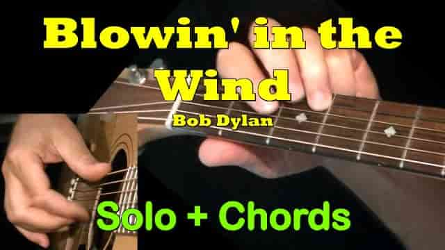 Blowin' in the Wind - Bob Dylan | Easy Guitar Tab