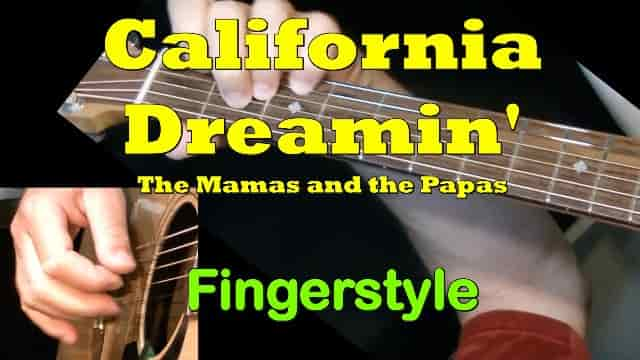 California Dreaming - The Mamas & the Papas | Fingerstyle Guitar Tab