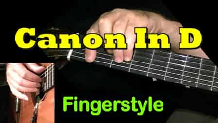 Canon In D - Fingerstyle Guitar Tab
