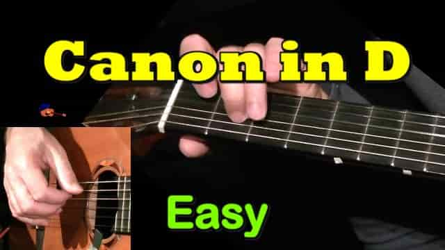 Canon In D by Pachelbel | Easy Guitar Tab - Chords