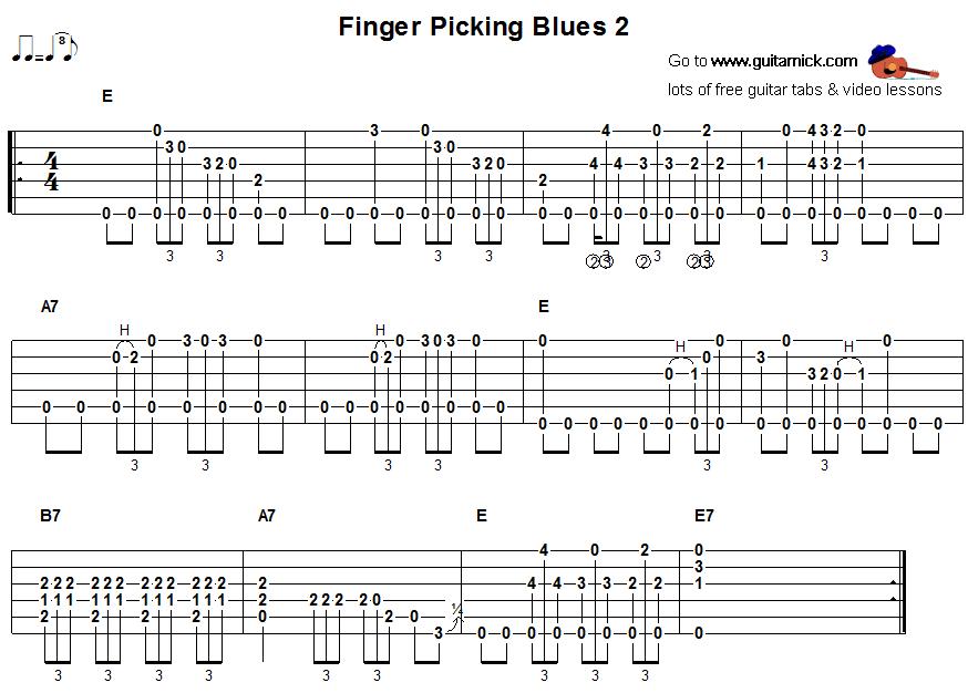 fingerpicking-blues-2-guitar- ...