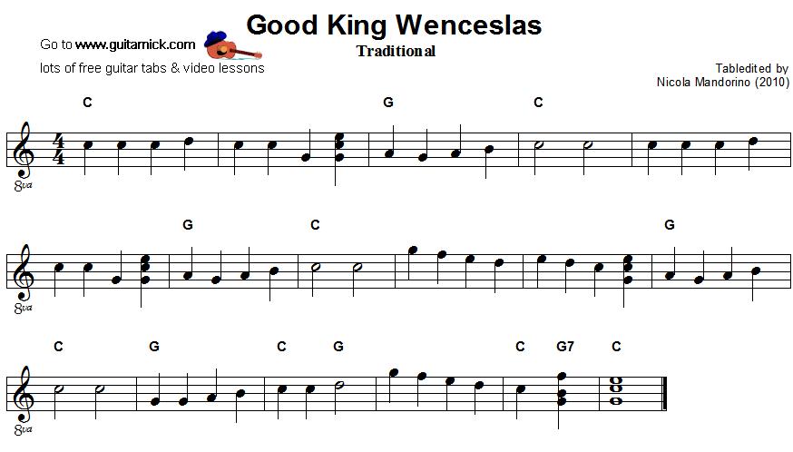 Ukulele ukulele tabs good king wenceslas : Guitar : best guitar tabs Best Guitar Tabs as well as Best Guitar ...