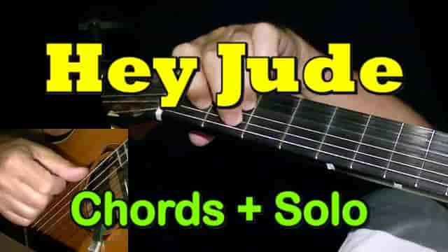 HEY JUDE - Easy Guitar Tab