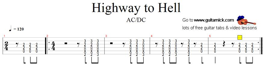 Guitar Tabs For Beginners Songs Electric images