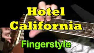 Hotel California - Fingerstyle Guitar Tab