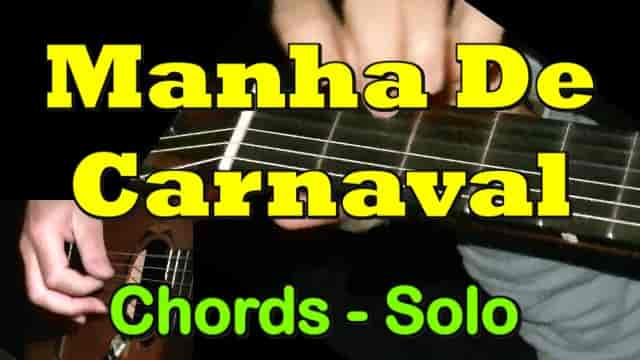 Manha De Carnaval - easy guitar tab, chords
