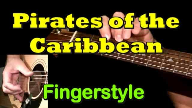 Pirates Of The Caribbean (Theme) | Fingerstyle Guitar Tab