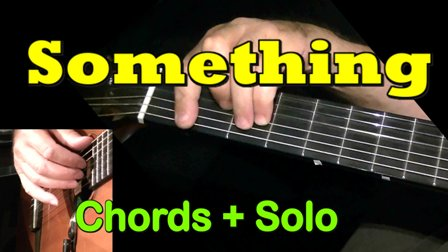 Something - Easy Guitar Tab
