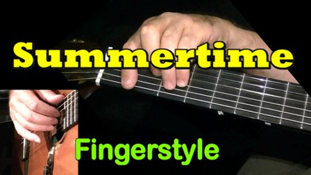 SUMMERTIME - fingerstyle guitar tab
