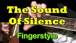 The Sound of Silence - fingerstyle Guitar Tab