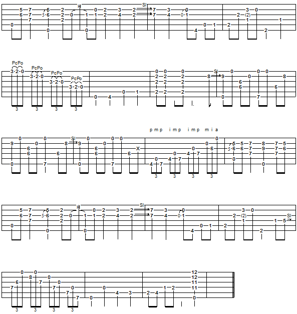 The Pickle - guitar tab 2