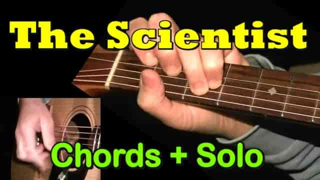 The Scientist (Coldplay) - easy guitar tab