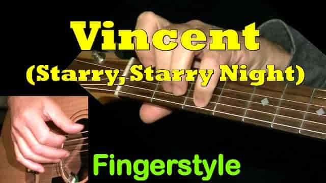 Vincent (Starry Night) - Don McLean | Fingerstyle Guitar Sheet Music